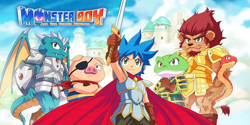 Monster Boy and the Cursed Kingdom XCI - Download XCI NSP Rom